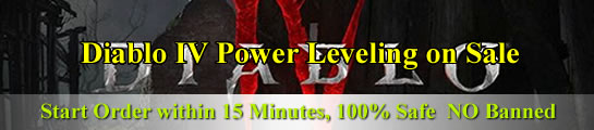 Diablo 4 Power Leveling