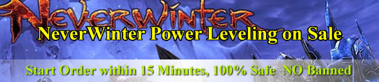 NeverWinter Power Leveling