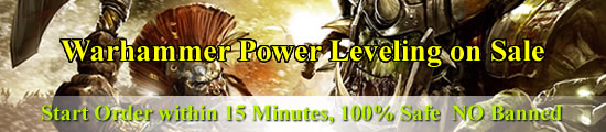 Warhammer Power Leveling